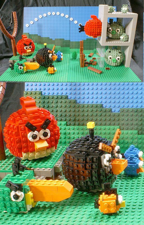 LEGO Angry Birds: Angry Bricks?