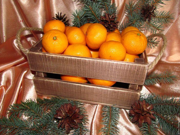 Купить Лучшая посуда для мандарина))) - комбинированный, мандарины, ящик для мандаринов, посуда, новогодняя посуда