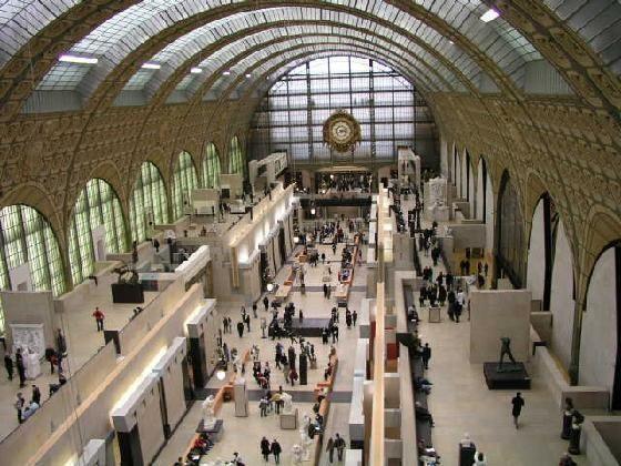 Museo d'Orsay http://www.holaparis.com/que-ver-en-paris/museo/museo-de-orsay ->> #turismo #viajes #paris #francia