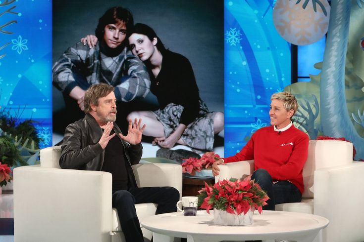 """Mark Hamill misses Carrie Fisher like a family member. On Tuesday's episode of """"The Ellen DeGeneres Show"""", the """"Star Wars"""" actor shared his fondness for his late co-star, who passed away nearly one year ago at 60. RELATED:Mark Hamill, Harrison Ford, Billie Lourd Pay Tribute To Carrie Fisher At Star Wars Celebration """"She's like an…"""