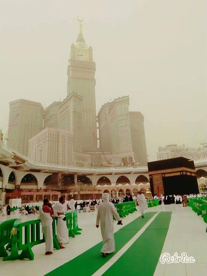 Cloudy day in Makkah