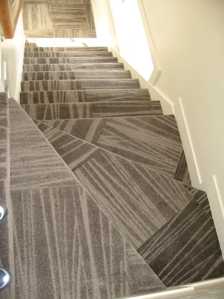 Carpet Tile Stairs Carpet Tile Flooring Pinterest