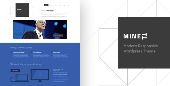 MINETT - WordPress Responsive Theme