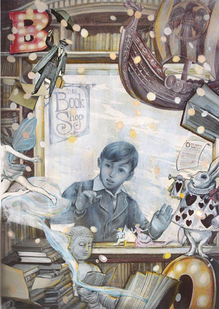 illustration by OAT MONTIEN, illustrator represented by OWL Illustration agency www.owlillustration.com