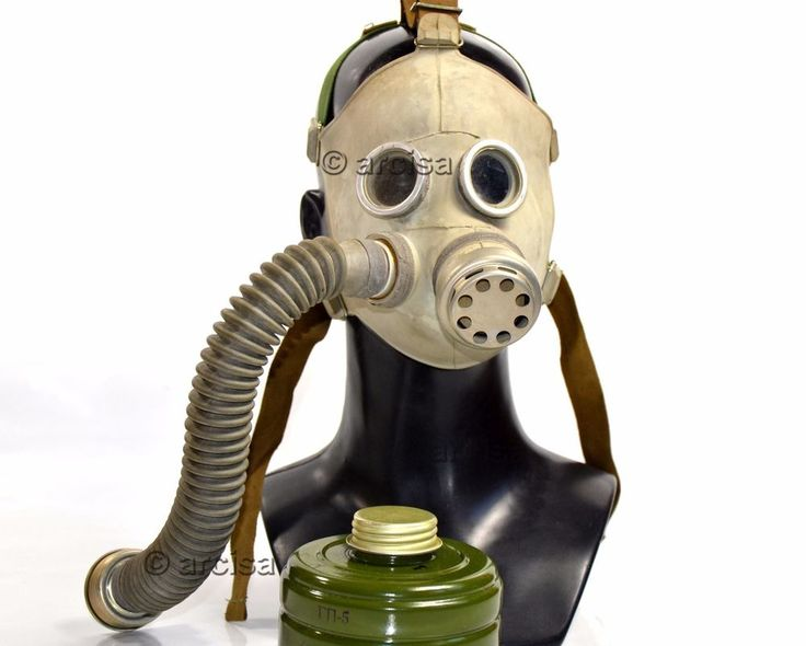 Soviet russian gas mask PDF-7 grey rubber. So mask and filter are ready to use and 100% safe. Gas mask. Child mask. Each filter comes originaly wraped in paper with all factory seals. You will get . | eBay!