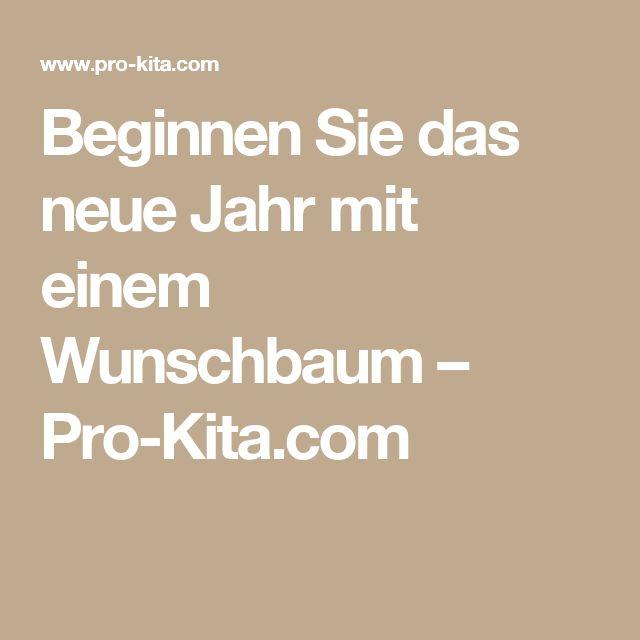 Beginnen Sie das neue Jahr mit einem Wunschbaum – Pro-Kita.com