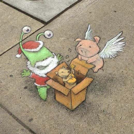 Chalk Art for All Seasons | David Zinn
