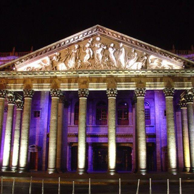 Guadalajara, Jalisco, Mexico (Teatro Degollado)