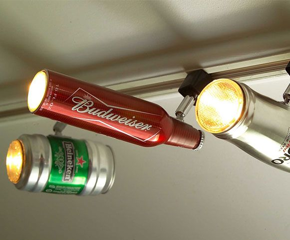 Beer Bottles Turns to Lamps by ZAL Creations | 1 Design Per Day