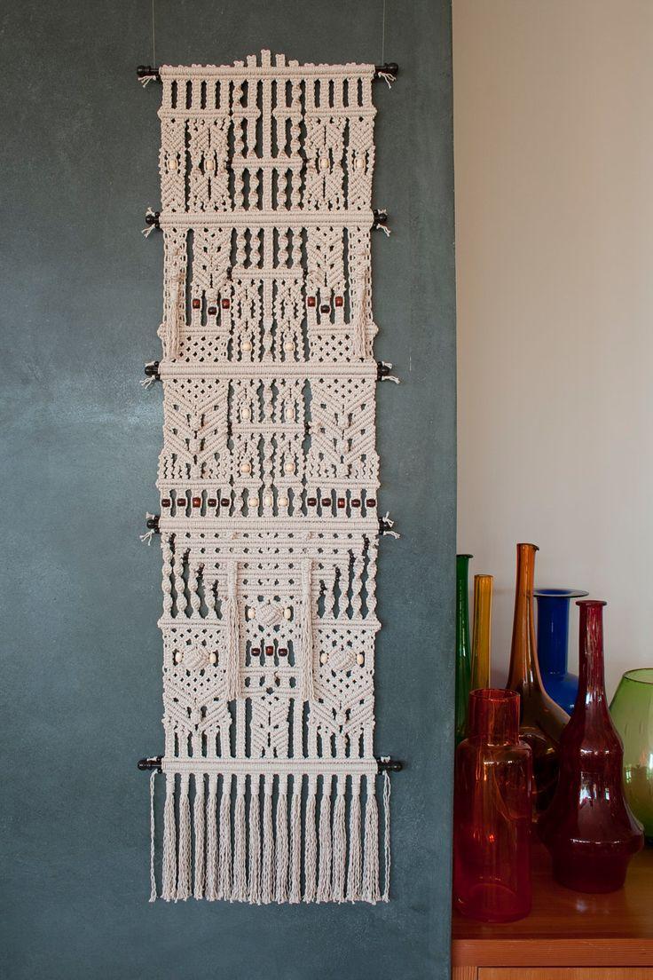 Macrame Wall Hanging. $1,600.00, via Etsy.