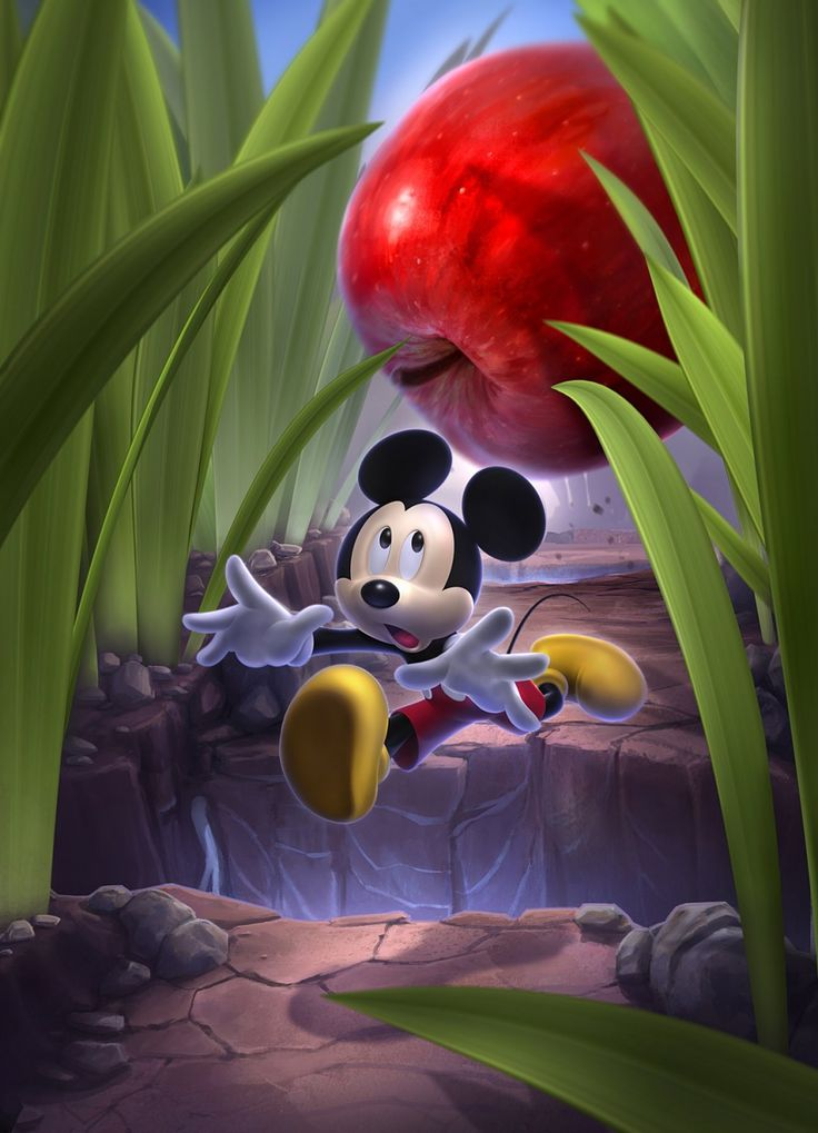 Castle of Illusion Starring Mickey Mouse poster | My Fantasy Art ...