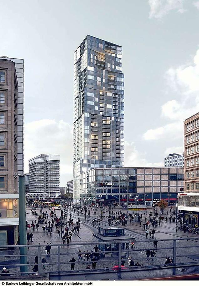 Bauvorhaben Alle Wollen An Den Alex Turmhaus Bauland