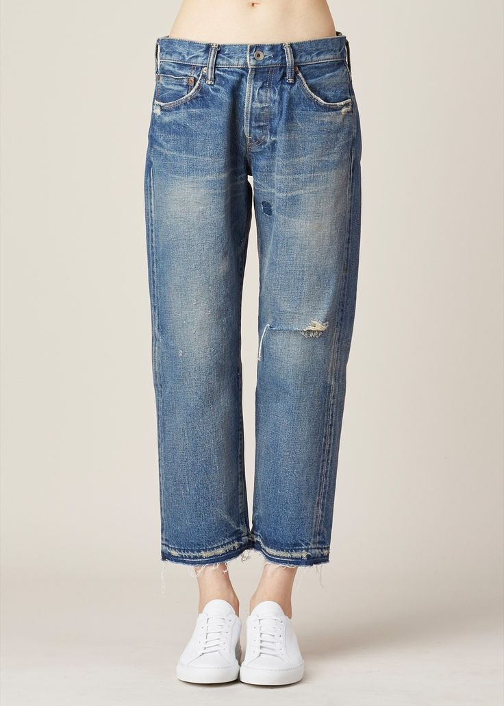 Chimala Ankle Cut Jean (Used Medium) — http://totokaelo.com/chimala/ankle-cut/used-medium/LN7889/cs15-wp07a