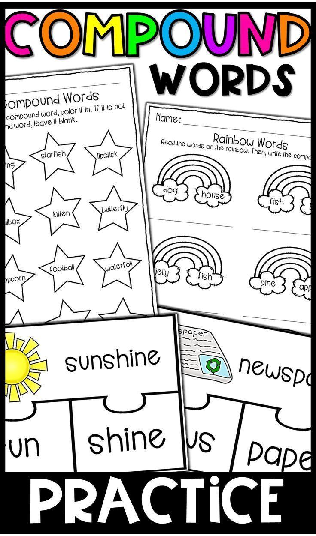 Distance Learning Compound Words Worksheets And Activity Compound Words Worksheets Compound Words Kindergarten Worksheets [ 1251 x 736 Pixel ]