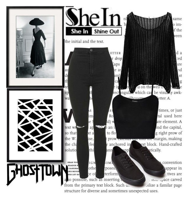 """""""SheIn"""" by chap15906248 ❤ liked on Polyvore featuring Topshop, Forever 21 and WearAll"""
