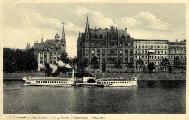 Szpital św.Józefa i nowicjat ss. szarytek - czarno-biała wersja  Rok 193