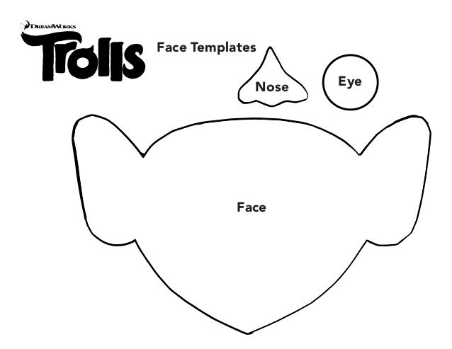 outline of trolls movie