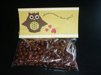 Printable treat bag topper. Cute for surprising hubby with a late night snack!