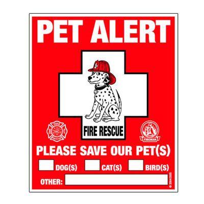 Pet fire safety...