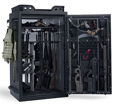 Browning's Tactical Gun Safe, gotta get one.