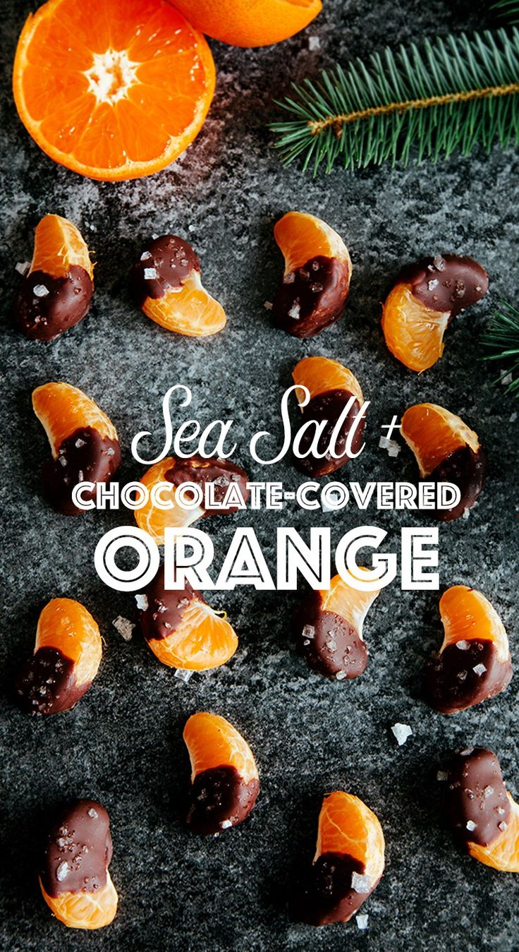 Sea salt & Chocolate Covered Orange