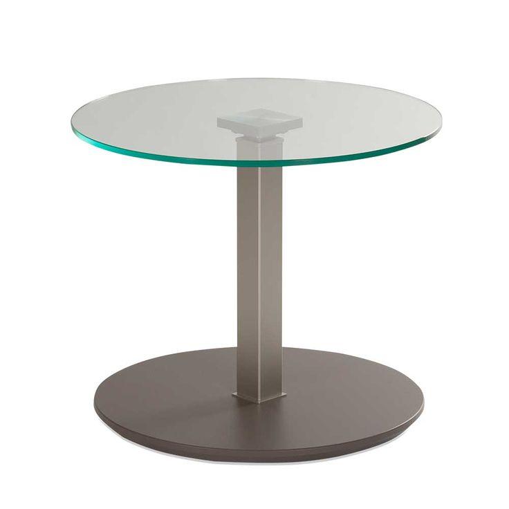 Wohnzimmertisch Mit Runder Glasplatte Höhenverstellbar Jetzt Bestellen  Unter: Https://moebel.ladendirekt.de/wohnzimmer/tische/beistelltische/?uidu003d1cc6c277   ...