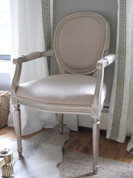 Voltaire Louis Xv #6: Before U0026 After: Nicoleu0027s Louis XV Chair Makeover