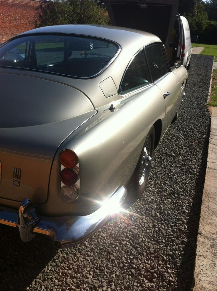 Check out this immaculate  Aston Martin DB5