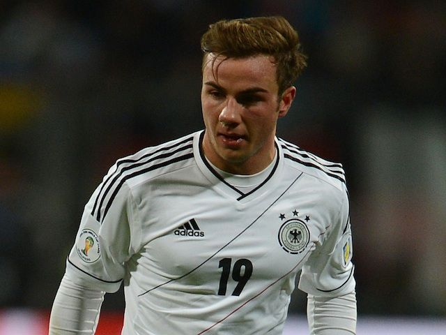 """Borussia Dortmund midfielder Mario Gotze sidelined with """"metabolic disturbances"""""""
