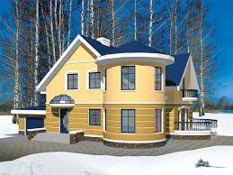 Картинки по запросу загородний дом с эркером