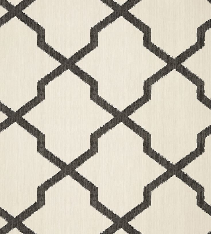 Interior design trend, Trellis geometric wallpaper | Myanmar Trellis Wallpaper by Thibaut | Jane Clayton