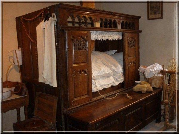 Vieux lit clos breton
