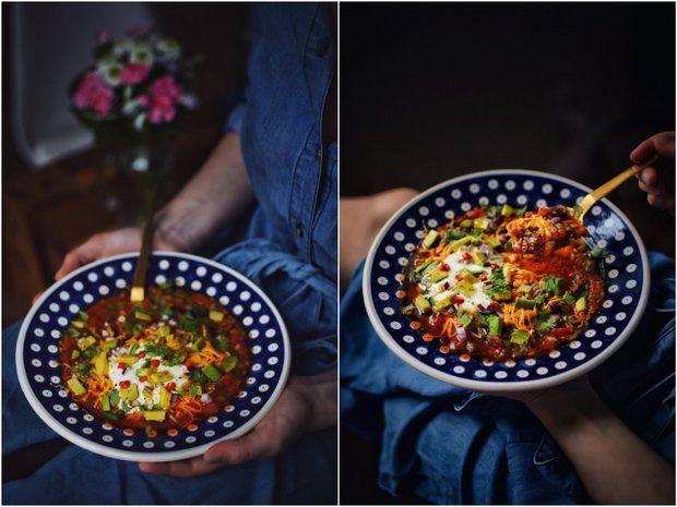 Pikantní taco polévka , Foto: Janina Černá / Cukrfree