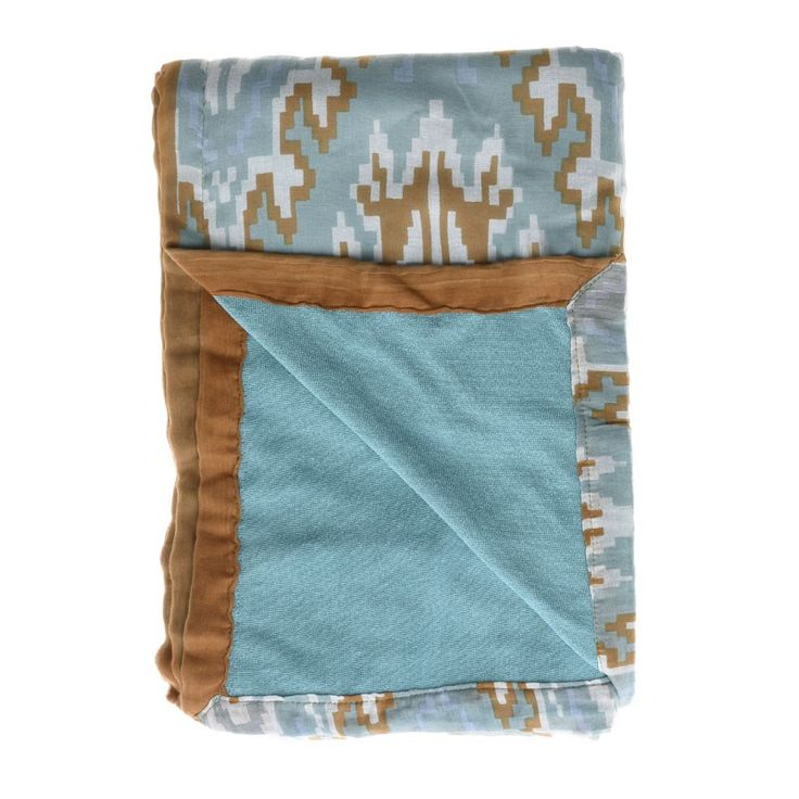 DOUBLE SIDE BEACH TOWEL W/ PRINTS - Towels
