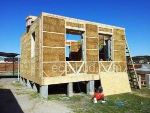 дом из соломенных панелей, г. Ирпень