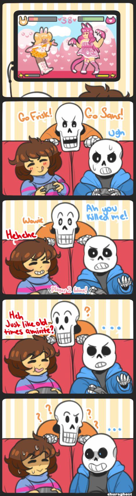 *Megalovania intensifies* WELP, you fucked up Frisk