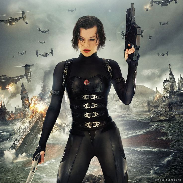 Resident Evil: Retribution is the fifth installment of the Resident Evil horror/action series starring Milla Jovovich (The Fifth Element, Ultra Violent) as Alice. Description from 365daysofhorrormovies.blogspot.com. I searched for this on bing.com/images