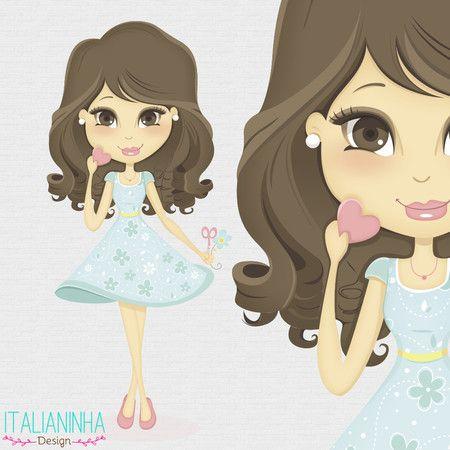 Ilustração/Mascote - Italianinha Design