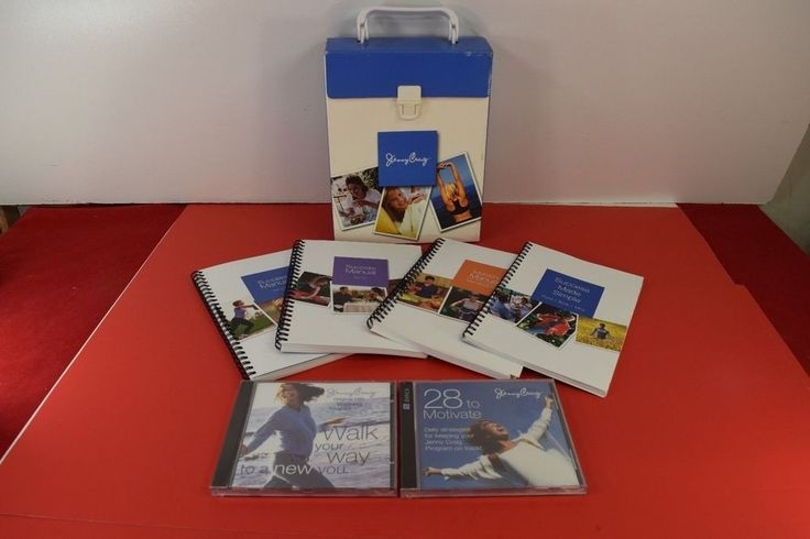 Jenny Craig Package 2 CDs Dining Out Guide 2 Success Manuals #JennyCraig