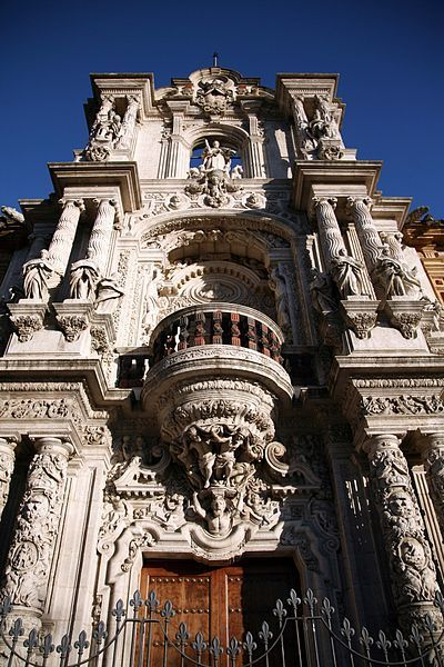 The Palacio de San Telmo in Seville, Spain.