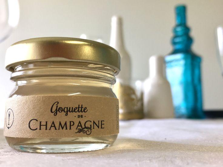 Cadeaux d'invités: La Goguette de Champagne Un cadeau qui surprendra vos invités et embellira votre table.