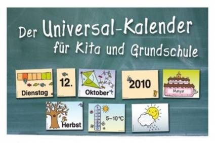 Universal-Kalender für Kita und Grundschule