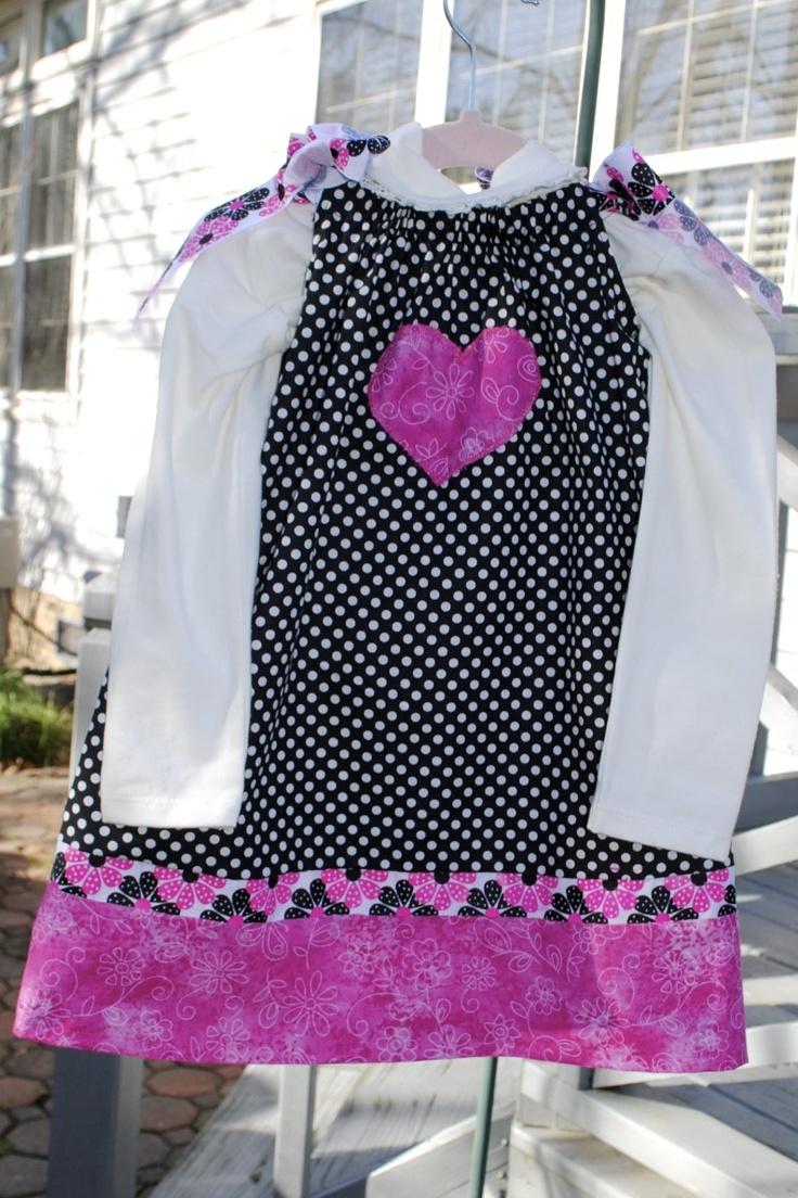 Janessa\u0027s valentines Pillowcase dress. Pillowcase DressesPillowcasesCraft ProjectsPillow ... & 100 best Pillowcase dress images on Pinterest | Pillow case ... pillowsntoast.com