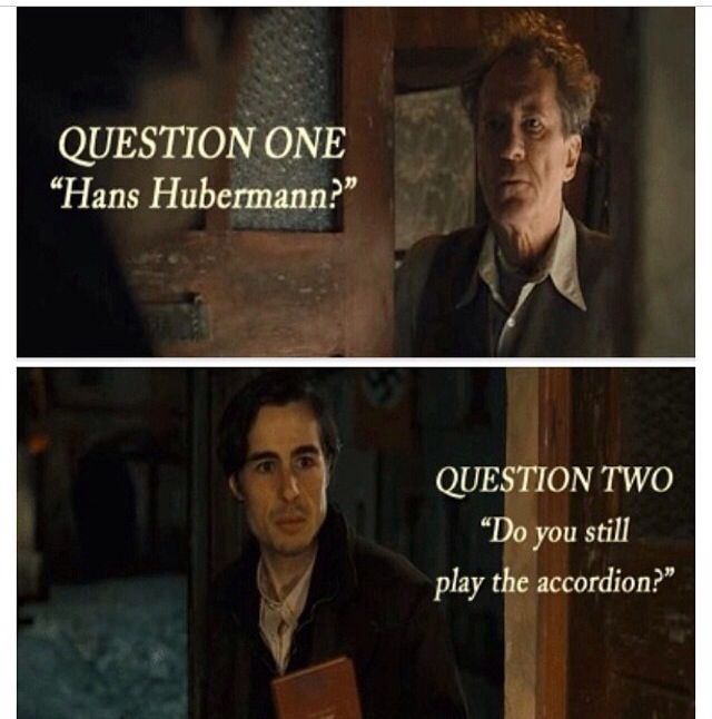 liesel and max relationship questions