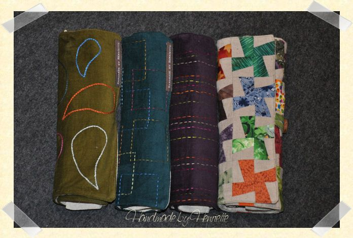 Knitting case for KnitPro circular needles and cables. With room for 10 needles, 10 short needles, cables and more