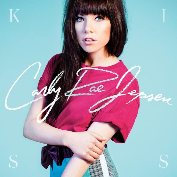 album cover art: carly rae jepsen - kiss [2012]