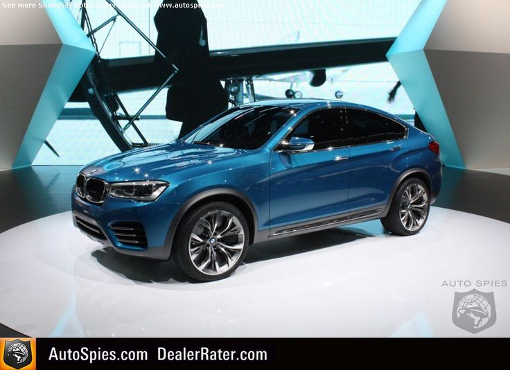 SHANGHAI MOTOR SHOW: FIRST Real-Life Shots Of The BMW X4 Concept — RR Evoque Killer? - AutoSpies Auto News