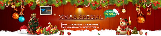 Best VPN for Online Game: FlyVPN's Xmas & New Year Big Deal - Save up to 50%...