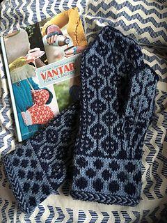 Ravelry: Ullapedest's Lennart' s mittens