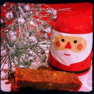 Holly Jolly Christmas -  chocolate shortbread - refined sugar free/soy free/dairy free/gluten free